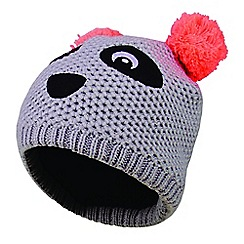 Dare 2B - Grey 'Watch Out' kids beanie hat