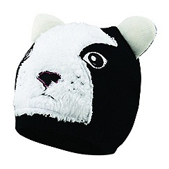 Dare 2B - Black 'Watch Out' kids beanie hat