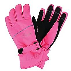 Dare 2B - Pink 'Hand Pick' kids ski gloves