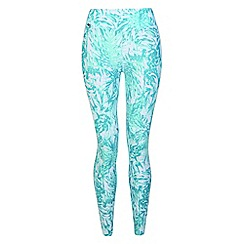 Dare 2B - Blue 'Unleashed' kids print leggings