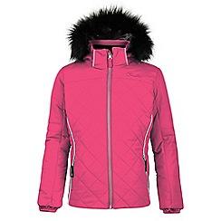 Dare 2B - Pink 'Relucent' kids waterproof ski jacket