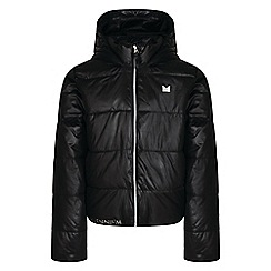 Dare 2B - Black 'Exoteric' girls waterproof hooded jacket