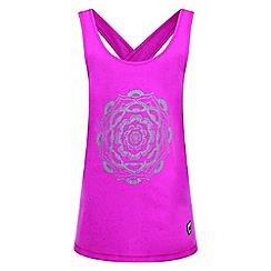 Dare 2B - Pink 'Unbind' kids print vest