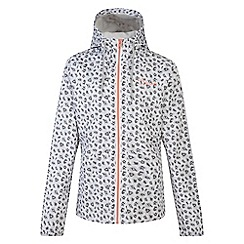 Dare 2B - Girls' white trepid waterproof jacket