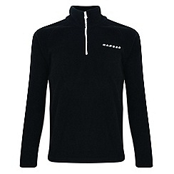 Dare 2B - Kids Black freeze jam half-zip fleece