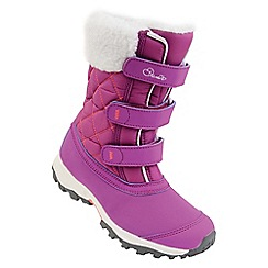 Dare 2B - Purple 'Skiway' kids snow boots