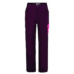 Dare 2B - Purple 'Proficiency' kids lightweight trousers