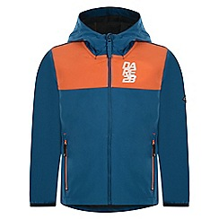 Dare 2B - Blue 'Refrain' kids softshell jacket