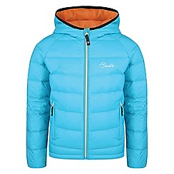 Dare 2B - Blue 'Download' kids insulated hooded jacket