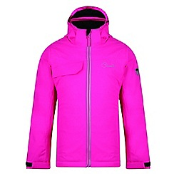 Dare 2B - Pink 'Ruminate' kids waterproof ski jacket