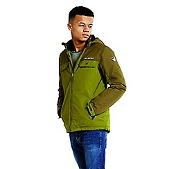 Dare 2B - Green kids 'Fledged' waterproof ski jacket