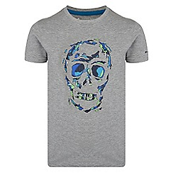 Dare 2B - Grey 'Ensemble' kids print t-shirt