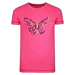 Dare 2B - Pink 'Ensemble' kids print t-shirt