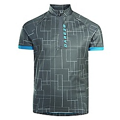 Dare 2B - Grey 'Juvento' kids cycle jersey top
