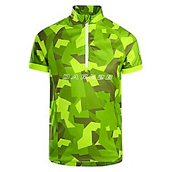 Dare 2B - Green 'Juvento' kids cycle jersey top