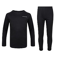 Dare 2B - Kids Black cool off thermal baselayer set