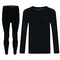 Dare 2B - Black 'Zonal' kids base layer set
