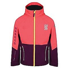 Dare 2B - Pink 'Modulate' kids waterproof jacket