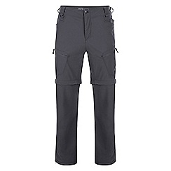 Dare 2B - Grey 'tuned in' zip off trousers