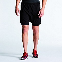 Dare 2B - Black 'Linked' sports shorts