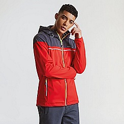 Dare 2B - Red 'Amnesty' hooded softshell jacket
