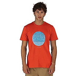 Dare 2B - Orange mountainous print t-shirt