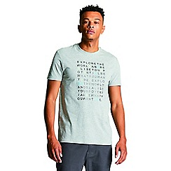 Dare 2B - Grey 'Verses' print t-shirt