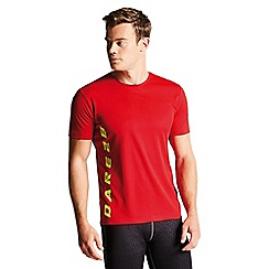 Dare 2B - Red 'Typescript' print t-shirt