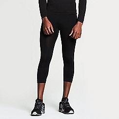 Dare 2B - Black ergonomic zonal 3/4 leggings
