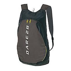 Dare 2B - Ebony/grey silicone packaway rucksack