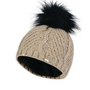 5cbae1a0c2d Principles Black quilted fur trim cossack hat