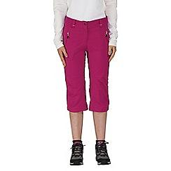 Dare 2B - Purple melodic 3/4 sport shorts