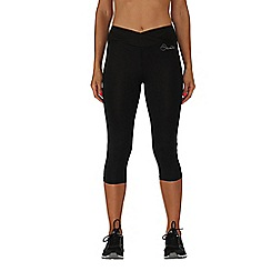 Dare 2B - Black reasoned three quarter length running tights