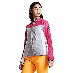 Dare 2B - Pink 'Sovereign' softshell hooded jacket