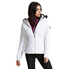 Dare 2B - White 'Endow' luxe ski jacket