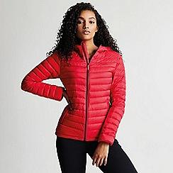 Dare 2B - Pink 'Drawdown' hooded ski jacket