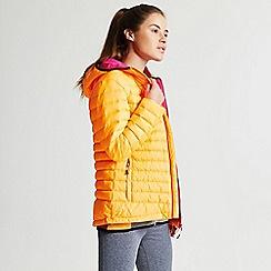 Dare 2B - Orange 'Drawdown' hooded ski jacket