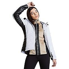 Dare 2B - White 'Comprise' luxe jacket