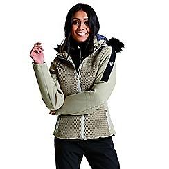 Dare 2B - Brown 'Plica' luxe waterproof ski jacket