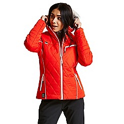 Dare 2B - Red 'Ornate' luxe waterproof ski jacket