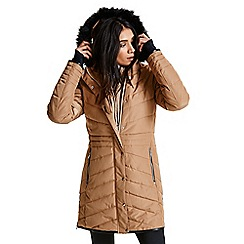 Dare 2B - Brown 'Lately' luxe waterproof ski jacket