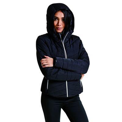 Dare 2B Black 'Vaunt' luxe waterproof ski jacket   Debenhams