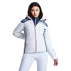 Dare 2B - White 'Impromptu' waterproof ski jacket