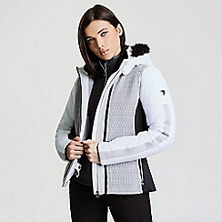 Dare 2B - White 'Statement' waterproof ski jacket