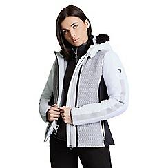 Dare 2B - White 'Statement' waterproof ski jacket