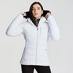 Dare 2B - White 'Curator' waterproof ski jacket