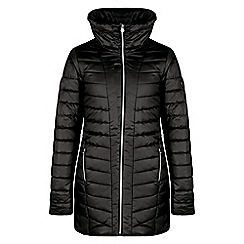 Dare 2B - Black 'Longline' insulated ski jacket