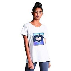 Dare 2B - Cream/white 'Amora' print t-shirt