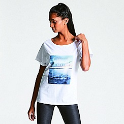 Dare 2B - White 'Laidback' print t-shirt