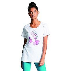 Dare 2B - Cream/white 'Voyage' print t-shirt